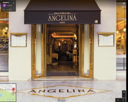 Angelina da Rue de Rivoli (foto retirada do Google Maps)
