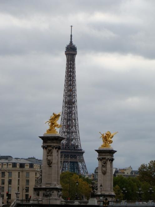 Torre Eiffel e Ponte Alexander III