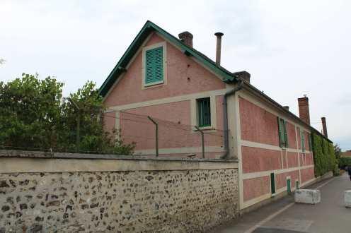 Casa de Monet vista de fora.
